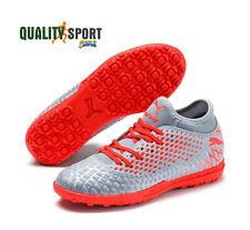 Scarpe sportive da calcetto con tacchetti argentoavion
