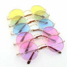 John Lennon Sunglasses Round Hippie Shades Retro Colored Lenses Glasses