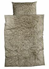 CASATEX Bettwäsche Animal Fur Tierfellmotiv Fell braun warm kuschelig flauschig