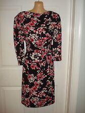 Jones New York Wear to Work Floral Print Short Sleeve Dress Sz 2,4,6,8,10,12