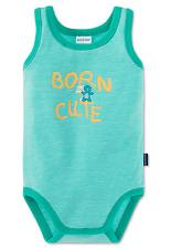 SCHIESSER Body bebè senza manica BORN CARINO tg. 68 74 80 86 92 98 104 Corpi