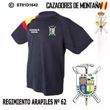 CAMISETAS TECNICAS CAZADORES DE MONTAÑA: REGIMIENTO ARAPILES Nº 62  M1
