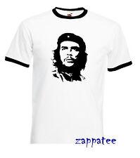 Che Guevara T Shirt  - Classic iconic retro FOTL Ringer Tee