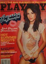 AMERICA OLIVO June 2009 PLAYBOY Magazine SHIA LABEOUF  JAMES ELLROY  SCOTT BORAS