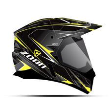 Zoan Synchrony Duo Electric Shied Hawk Graphic Snow Helmet