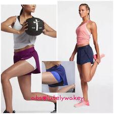 Nike Dri-Fit 2 en 1 Mujer Shorts de Entrenamiento Ajustado Interior Medias
