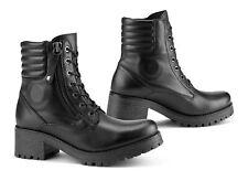 Falco Damen Motorrad Schuhe / Stiefel Misty Wasserdicht Black