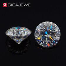 DEF Color 0.16-4Ct VVS Big Round Cut  Moissanite Stone Loose Diamond 100% Real