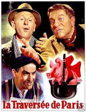 La traversee de Paris Bourvil Gabin1956 movie poster #2