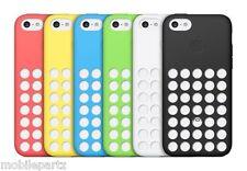 Genuino Original Apple Punto De Silicona Estuche Cubierta para iPhone 5C-Varios Colores