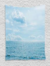 Nautical Tapestry Calm Sea Paradise Print Wall Hanging Decor