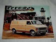 1979 Dodge Ram Trucks Vans Color  Brochure