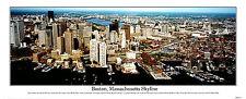 USA Massachusetts, Boston City, View of an Urban Skyline  Panoramic Photo 6005