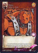 Carte de jeu D'aprés la BD LANFEUST DE TROY  81/150 Troll