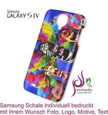 3D Samsung Galaxy S4 IV Schale Hülle Cover Case individuell bedruckt Wunsch Foto