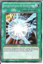 Soffio Esplosivo di Distruzione YU-GI-OH! SDDC-IT025 Ita COMMON 1 Ed.
