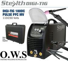 SWP Stealth digi-tig 180Dc Puls PFC 180Amp TIG Schweißen Bogen MMA DV 110V 240V