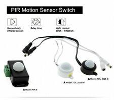 12V 24V Mini PIR Motion Sensor Detector Switch for LED Strip Ruban Light Tape