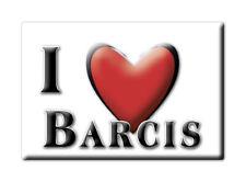 CALAMITA FRIULI VENEZIA GIULIA FRIDGE MAGNET MAGNETE SOUVENIR LOVE BARCIS (PN)