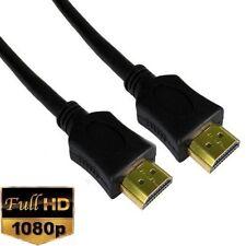 HDMI CABLE GOLD 1080P LONG LEAD SMART HD TV 3D METRE 1m 2m 5m 10m 15m 1.4V PS3