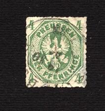 GERMANY - 1861/65 - Impression en Relief - Percés en Lignes - Used - 4 P.