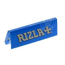 Rizla Blue Cigarette Smoking Rolling Papers Made in Belgium 100% Genuine Mediua