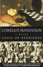 CORELLI'S MANDOLIN Louis de Bernieres Paperback Book Novel History Romance NEW