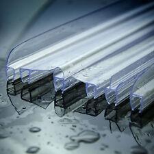 Duschdichtung Wasserabweiser Gerade Ersatzdichtung Glassdicke 4-8mm 0,5-2m 6mm