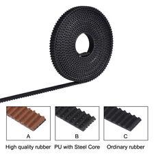 2/5M GT2-6mm Open Timing Belt Width 6/10mm PU With Steel Core 2GT Timing Belt 3D