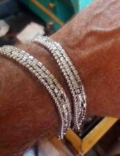 Bracciale argento 925 pepite stile Dodo Tre fili regalo donna ragazza gioielli
