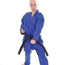 Tiger Claw Lightweight Student Tae Kwon Do Uniform TKD Gi - Blue