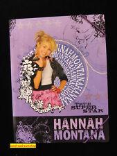 Hannah Montana Gummizugmappe A4     lila   NEU