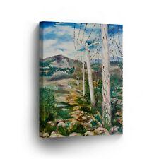Modern Oil Painting on Canvas Print Wall Decor Art Framed %100 Handmade OPV22