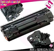 TONER NERO Q2612A 2612 A 12 A compatibile per stampanti HP nonoem NON ORIGINALE