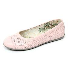 C6996 ballerina bimba MONNALISA scarpa forata rosa shoe kid