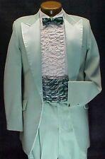 Light Pastel Green Jacket or 4pc Retro After 6 Tuxedo Vintage Mens Weddings Prom