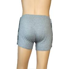 Gray Reusable Incontinence Briefs Pants Cotton Underwear Washable for Men