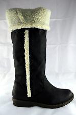 Damen Schuhe Stiefeletten Boots Stiefel Winterstiefel Gr.36-41 Schwarz A.258-152