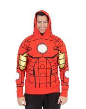 I Am Iron Man LED Light Up Adult Sweatshirt Hoodie