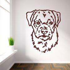 BORDER TERRIER DOG vinyl wall art sticker decal