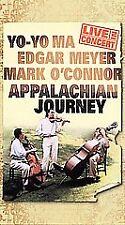 Appalachian Journey VHS 2000 James Taylor Alison Krauss Yo Yo Ma Mark O'Connor