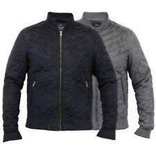 Mens MA1 Jacket Threadbare Suede Look Coat Harrington Quilted Bomber Winter New