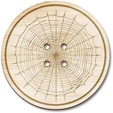 'Toile d'araignée' boutons en bois (BT003365)