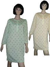 Damen Nachthemd Flanell, leicht angerauht, Gr. M-XXXL