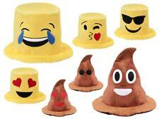 Emojicon Hut Emoticon Karneval Mütze Sepplhut Party-Outfit Smiley Poo-Hut