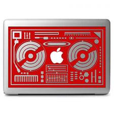 "DJ Console Rmx DJ Mixers Vinyl Decal for Apple Macbook Air Macbook Pro 13"" 13.3"""