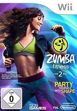 Gioco Wii Zumba Fitness 2 + istruzioni buono stato + OVP