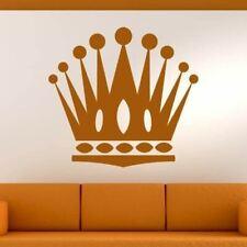 Crown King Queen Wall Art Sticker (AS10238)
