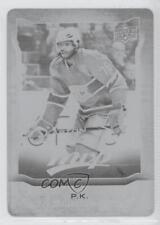 2014 Upper Deck MVP Printing Plate Black #233 PK Subban Montreal Canadiens P.K.