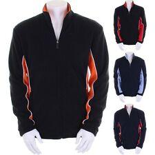 Mens Gamegear® Micro Fleece Colour Side Full Zip Track Jacket Top